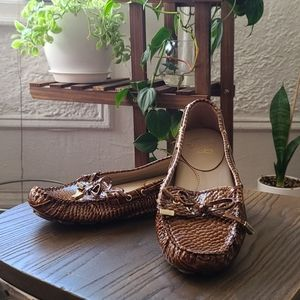Andrew Steven's Bronx croco loafers  size 6m